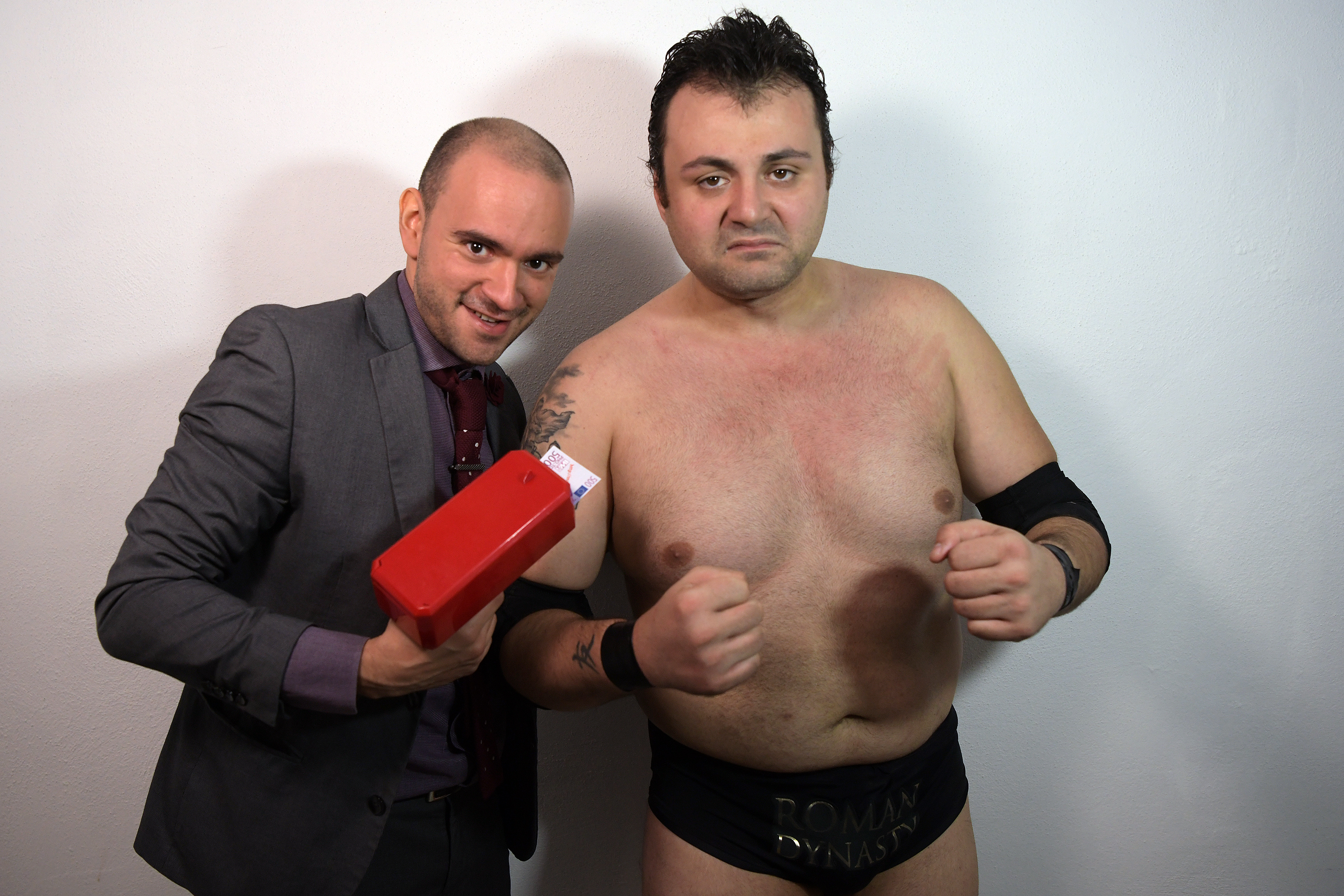 Mister Malvezzi e Dave Blasco