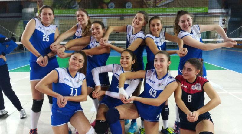 Pallavolo – Giovanili Femminili: L'U14 fa suo il derby, doppio 3-0 per l'U16 Nera.