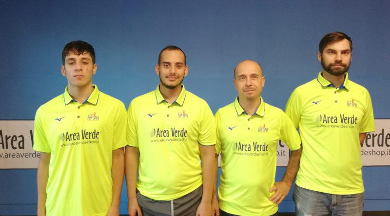 Tennistavolo – C1 nazionale – TOP SPIN AREA VERDE, 5-1 AL SILVI.