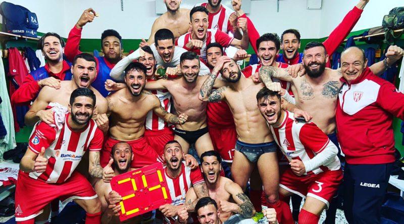 Calcio – Arzachena – Anagni 2-4.
