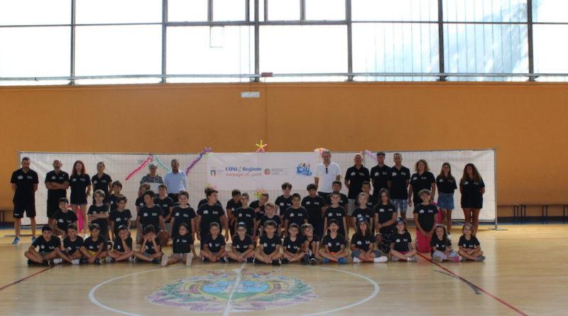 Pallacanestro – Premiazione speciale per i partecipanti all'Edu Camp di Alatri.