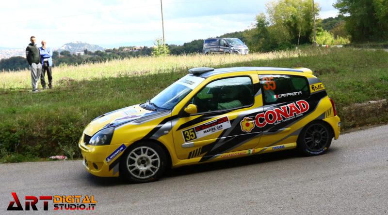 Rally – Michele Campagna, primo posto nella classe N3 al Rally del Molise.