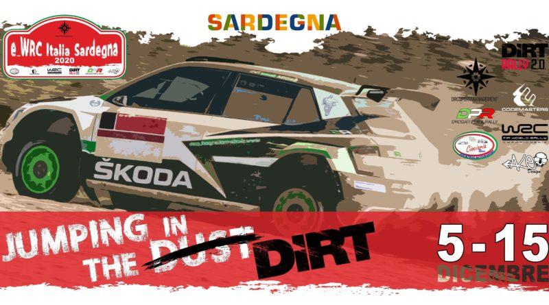 Rally – E_wrc Italia Sardegna dal 5 al 15 Dicembre.