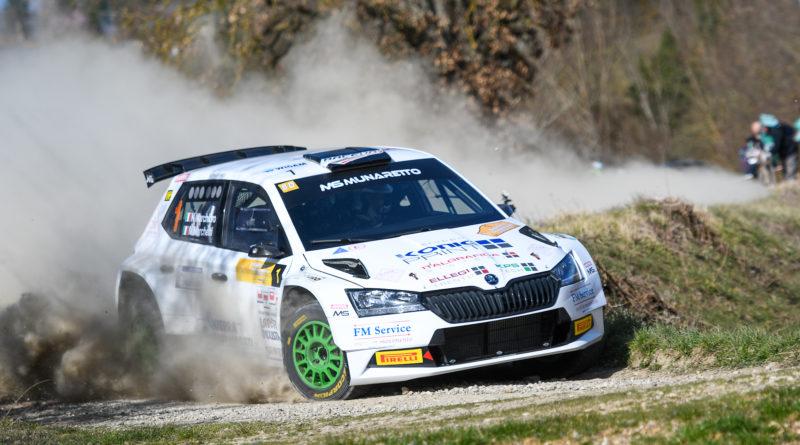 Rally – 1° rally terra Valle del Tevere: spettacolo, adrenalina e vittoria per Marchioro-Marchetti (skoda fabia r5).