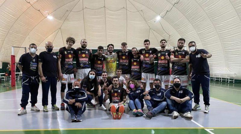 Pallavolo – Sora apre i Play Off Promozione con una grande vittoria in casa dell'Appio Roma.