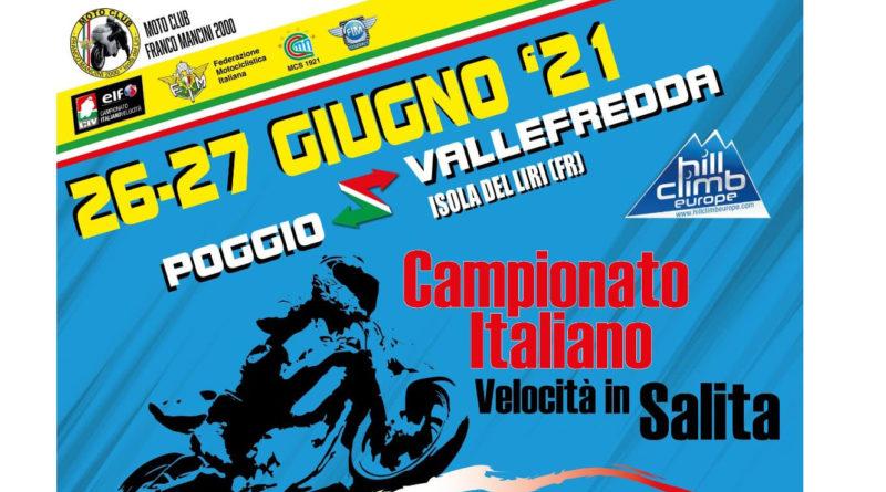 Motociclismo – Cronoscalata Poggio- Vallefredda record di iscritti e presenze accattivanti.